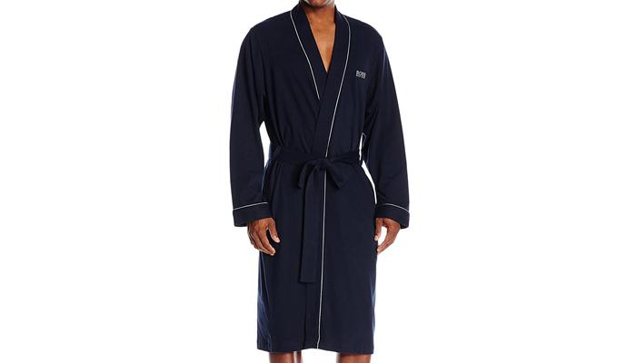 mens silk bathrobe